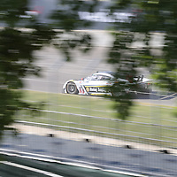 Detroit, MI - Jun 03, 2016:  The Action Express Racing Prototype Corvette DP car races through the turns at the Detroit Grand Prix at Belle Isle Park in Detroit, MI.
