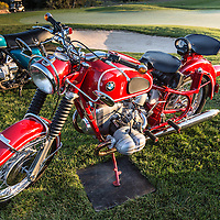 1969 BMW R69US, in the early morning light, pre-show, at the 2012 Santa Fe Concorso.