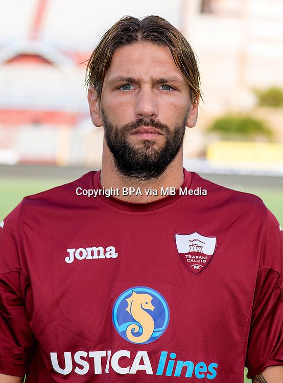 Italian League Serie B_2015-2016 / <br /> ( Trapani Calcio 1905 ) -  <br /> Christian Terlizzi