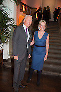 GALEN WESTON; HILARY WESTON, Gala Opening of RA Now. Royal Academy of Arts,  8 October 2012.