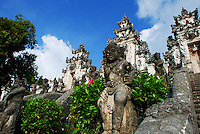The magnificent statuary of the Lempuyang Temple in Bali, Indonesia.