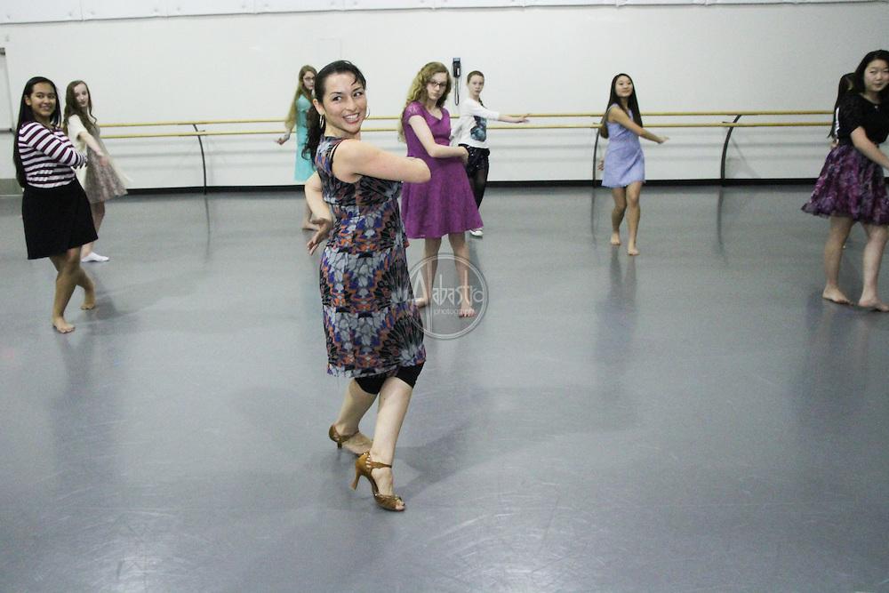 Pacific Northwest Ballet School's Winter Wonderland Ball 2014.