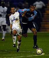 Photo: Jed Wee/Sportsbeat Images.<br /> Tranmere Rovers v Swansea City. Coca Cola League 1. 24/11/2007.<br /> <br /> Swansea's Darren Pratley (R) tussles with Tranmere's Chris Shuker.