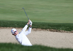 Oct 18, 2018-Jeju, South Korea-Whee Kim of South Korea action on the 10th bunker during the PGA Golf CJ Cup Nine Bridges Round 1 at Nine Bridges Golf Club in Jeju, South Korea.