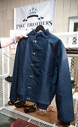 Picture shows Pike Brothers prototype deck jacket.<br /> Bread and Butter Berlin, January 16-19th 2014.<br /> <br /> Credit should read: Picture by Mark Larner