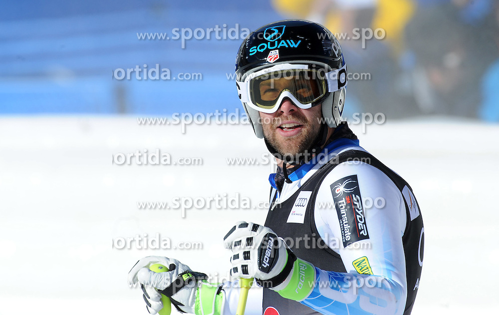 02.12.2014, Birds of Prey Course, Beaver Creek, USA, FIS Weltcup Ski Alpin, Beaver Creek, Herren, Abfahrt, 1. Training, im Bild Travis Ganong (USA) // Travis Ganong of the USA reacts during the men's Downhill 1st practice run of FIS Ski World Cup at the Birds of Prey Course in Beaver Creek, United States on 2014/12/02. EXPA Pictures © 2014, PhotoCredit: EXPA/ Erich Spiess