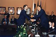 Andrea Meneghin<br /> Dino Meneghin