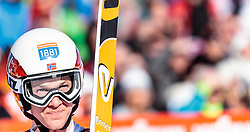 29.01.2017, Casino Arena, Seefeld, AUT, FIS Weltcup Nordische Kombination, Seefeld Triple, Skisprung, im Bild Magnus Krog (NOR) // Magnus Krog of Norway reacts after his Competition Jump of Skijumping of the FIS Nordic Combined World Cup Seefeld Triple at the Casino Arena in Seefeld, Austria on 2017/01/29. EXPA Pictures © 2017, PhotoCredit: EXPA/ JFK