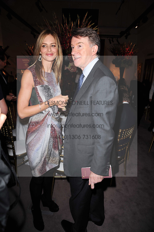 TRINNY WOODALL and LORD MANDELSON at the Krug Mindshare auction held at Sotheby's, New Bond Street, London on 1st November 2010.