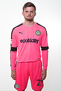 Forest Green Rovers goalkeeper Harry Pickering(24) during the Forest Green Rovers Photocall at the New Lawn, Forest Green, United Kingdom on 31 July 2017. Photo by Shane Healey.