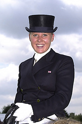 MISS ALICE BAMFORD daughter of Sir Anthony Bamford, at a polo match in Berkshire on 30th July 2000.OGN 107