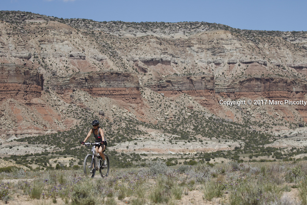 SHOT 5/20/17 1:42:22 PM - Emery County is a county located in the U.S. state of Utah. As of the 2010 census, the population of the entire county was about 11,000. Includes images of mountain biking, agriculture, geography and Goblin Valley State Park. (Photo by Marc Piscotty / © 2017)
