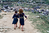 Vietnam. haut Tonkin. Region de Sapa. Hmong Noir. // Vietnam. North Vietnam. Sapa area. Black Hmong ethnic group.