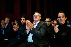 Boro Strumbelj during Slovenian Tennis personality of the year 2017 annual awards presented by Slovene Tennis Association Tenis Slovenija, on November 29, 2017 in Siti Teater, Ljubljana, Slovenia. Photo by Vid Ponikvar / Sportida