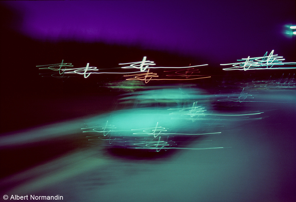 Night Moves, Car Blur, USA, August 1980