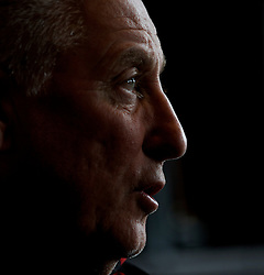 CARDIFF, WALES - Thursday, March 26, 2009: Wales' assistant coach Roy Evans during a press conference at the Vale of Glamorgan ahead of the 2010 FIFA World Cup Qualifying Group 4 match against Finland. (Pic by David Rawcliffe/Propaganda)