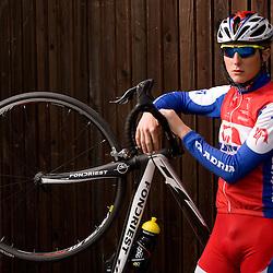 20100422: SLO, Portrait of Slovenian rider Marko Kump, Adria Mobil