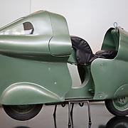 Vespa Montlhery, Piaggio Museum, Pontedera, Tuscany, Italy