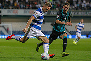 Queens Park Rangers defender Todd Kane (2) puts in a cross during the EFL Sky Bet Championship match between Queens Park Rangers and Swansea City at the Kiyan Prince Foundation Stadium, London, England on 21 August 2019.
