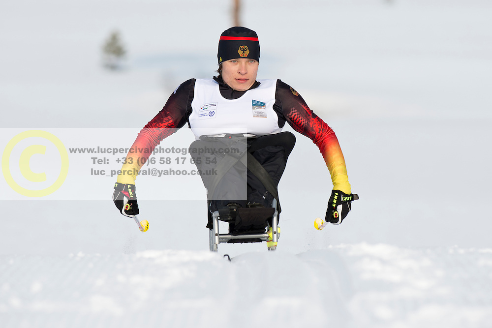 WICKER Anja, GER, Long Distance Cross Country, 2015 IPC Nordic and Biathlon World Cup Finals, Surnadal, Norway