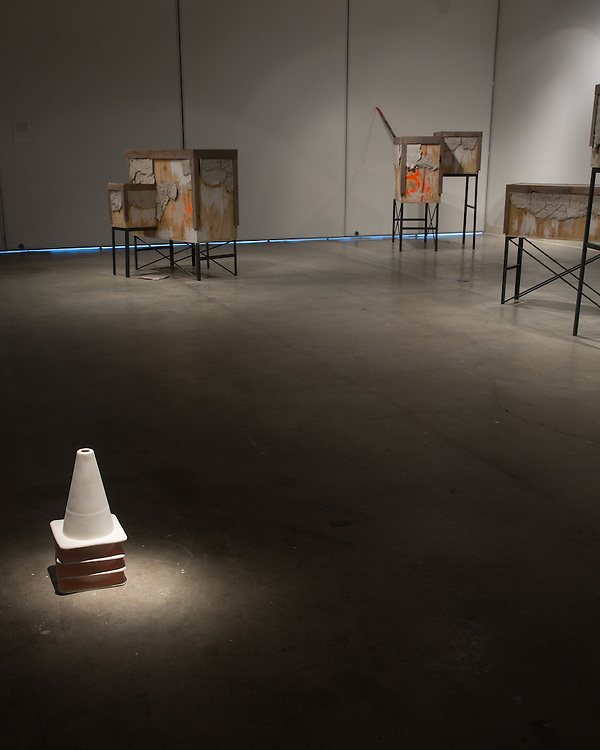 "Susanne Torres, An exhibition titled ""Wastelands"". Art Department, Art Lofts Gallery, University of Wisconin-Madison."