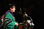 Sandra Anderson, chair of the board of trustees, at Undergraduate Commencement ©Ohio University/ Photo by Kaitlin Owens