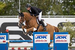 Philippaerts Anthony, BEL, All Right du Genet<br /> Belgisch Kampioenschap Jeugd Azelhof - Lier 2020<br /> © Hippo Foto - Dirk Caremans<br />  02/08/2020