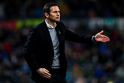 Derby County manager Frank Lampard - Mandatory by-line: Robbie Stephenson/JMP - 20/02/2019 - FOOTBALL - Pride Park Stadium - Derby, England - Derby County v Millwall - Sky Bet Championship