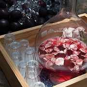 Rosewater cordial