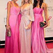 NLD/Amsterdam/20110929 - Inloop Estee Lauder Pink Ribbon Award Gala 2011 in de Beurs van Berlage, Modemeisjes Tamara Elbaz, Josh Veldhuizen, Maria Tailor