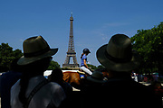 Paris, France : ambiance around the paddock during the Longines Paris Eiffel Jumping 2018, on July 5th to 7th, 2018 at the Champ de Mars in Paris, France - Photo Christophe Bricot / ProSportsImages / DPPI