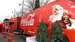 The Coca-Cola Truck Tour comes to Market Place, Romford, Essex on Sunday 20 December 2015