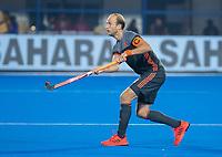 BHUBANESWAR, INDIA -  Billy Bakker (Ned) tijdens   de  finale tussen België en Nederland (0-0) bij het WK Hockey heren in het Kalinga Stadion. Belgie wint na shoot-outs. COPYRIGHT KOEN SUYK