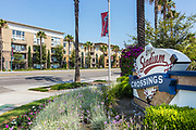 Stadium Crossings Shopping Center Monument Downtown Anaheim