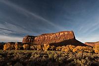 An autumn morning awakens in Bears Ears National Monument, Utah.