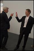 OCHRIS DERCON; SIR NICHOLAS SEROTA, pening of Frieze art Fair. London. 14 October 2014