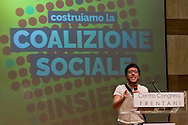 Roma, 7 Giugno 2015<br /> Secondo giorno della convention al Centro congresso Frentani della &quot;Coalizione sociale&quot;. Il segretario della Fiom  Maurizo Landini ha presentato le linee guida del suo nuovo movimento. Francesco Raparelli<br /> Rome, June 7, 2015<br /> Second day of the convention at the Center Congress Frentani of &quot;Social Coalition&quot;. The secretary of Fiom Maurizio Landini presented the guidelines of its new movement.