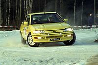 Motorsport, Rally Solør 2000. Svein G. Nielsen/Kjell Olsen, Ford Escort RS 2000.