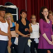 Perspresentatie Crazy for you musical, cast repetitie,