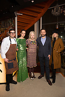 Claudio Cardoso, Leah Woods - Vivienne Westwood, Matthew Owen and Alexandra Richards - SUSHISAMBA hosted a glittering party at their vibrant restaurant to celebrate the 10th birthday of Cool Earth, their charity partner that works to halt rainforest destruction. Celebrity guests included Dame Vivienne Westwood, Daisy Lowe, Leah Wood, Alexandra Richards, Julien Macdonald, Jasmine Hemsley, Jack Guinness and Savannah Miller. Guests ate a special menu devised by SUSHISAMBA's Chef Director Claudio Cardoso using ingredients sourced directly from the rainforest in select dishes including Seasonal Vegetable Tempura, El Topo and Welcome to the Rainforest dessert and drank Yuzu Gin Fizz and a special Ashaninka Forest Cocktail at the star studded party. Celebrity guests joined SUSHISAMBA CEO Shimon Bokovza and Cool Earth's Director Matthew Owen.