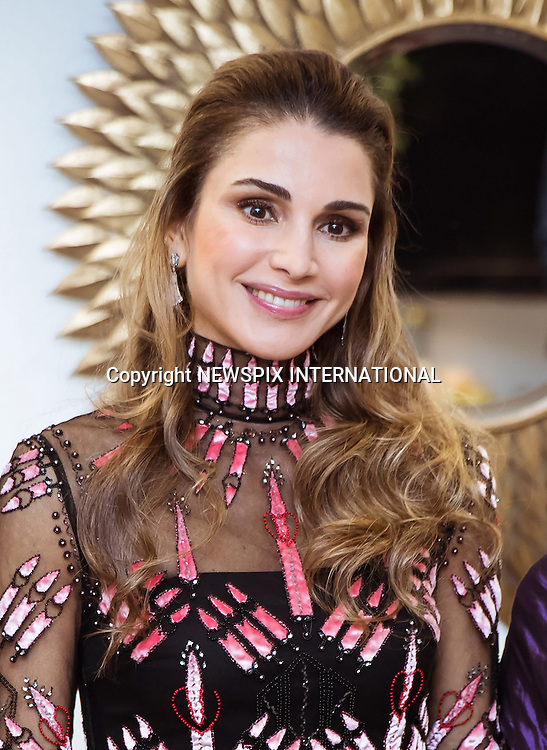 03.12.2016; Berlin, Germany: QUEEN RANIA<br /> accepted the Golden Heart Award at A Heart for Children charity organization&rsquo;s 16th Gala in Berlin.<br /> The award was in recognition of her global humanitarian work to support children&rsquo;s rights and their education.<br /> Mandatory Photo Credit: &copy;Royal Hashemite Court/NEWSPIX INTERNATIONAL<br /> <br /> PHOTO CREDIT MANDATORY!!: NEWSPIX INTERNATIONAL(Failure to credit will incur a surcharge of 100% of reproduction fees)<br /> <br /> IMMEDIATE CONFIRMATION OF USAGE REQUIRED:<br /> Newspix International, 31 Chinnery Hill, Bishop's Stortford, ENGLAND CM23 3PS<br /> Tel:+441279 324672  ; Fax: +441279656877<br /> Mobile:  0777568 1153<br /> e-mail: info@newspixinternational.co.uk<br /> &ldquo;All Fees Payable To Newspix International&rdquo;