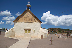 San Vicente De Paul Iglesia Catolica Church established in 1878 Punta De Agua, New Mexico