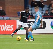 Dundee's Glen Kamara and Bolton Wanderers&rsquo; Josh Vela  - Dundee v Bolton Wanderers pre-seson friendly at Dens Park, Dundee, Photo: David Young<br /> <br />  - &copy; David Young - www.davidyoungphoto.co.uk - email: davidyoungphoto@gmail.com