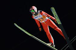 21.11.2014, Vogtland Arena, Klingenthal, GER, FIS Weltcup Ski Sprung, Klingenthal, Herren, HS 140, Qualifikation, im Bild Dawid Kubacki (POL) // during the mens HS 140 qualification of FIS Ski jumping World Cup at the Vogtland Arena in Klingenthal, Germany on 2014/11/21. EXPA Pictures © 2014, PhotoCredit: EXPA/ Eibner-Pressefoto/ Harzer<br /> <br /> *****ATTENTION - OUT of GER*****