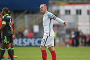 England Forward Wayne Rooney applauds the fans after the Euro 2016 Group B match between England and Wales at Stade de Bollaert-Delelis, Lens Agglo, France on 16 June 2016. Photo by Phil Duncan.