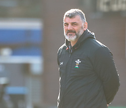 Head Coach Rowland Phillips of Wales<br /> <br /> Photographer Simon King/Replay Images<br /> <br /> Six Nations Round 3 - Wales Women v England Women - Sunday 24th February 2019 - Cardiff Arms Park - Cardiff<br /> <br /> World Copyright © Replay Images . All rights reserved. info@replayimages.co.uk - http://replayimages.co.uk