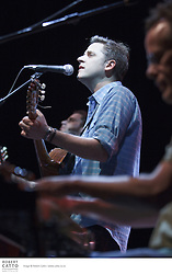 "Described as ""eclectic indie rockers sprinkled with desert dust"", Calexico's musical sound is influenced by traditional sounds of Mexico and the south-western United States. The band's main members, Joey Burns and John Convertino, first played together in LA as part of the group Giant Sand. They have recorded many albums, and their 2005 release In the Reins, recorded with Iron and Wine, reached the Billboard 200 album charts."
