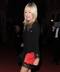 Laura Whitmore attends the Attitude Magazine Awards held at The Royal Courts of Justice in London, UK. 15/10/2013<br />