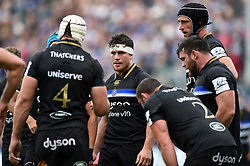 Francois Louw of Bath Rugby looks on during a break in play - Mandatory byline: Patrick Khachfe/JMP - 07966 386802 - 13/10/2018 - RUGBY UNION - The Recreation Ground - Bath, England - Bath Rugby v Toulouse - Heineken Champions Cup
