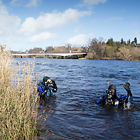 Police Divers Search River Tay
